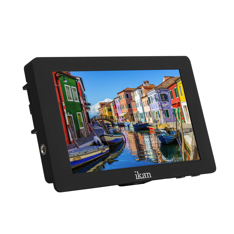 7 Black Ikan S7H Saga High Bright 4K Signal Support HDMI//3G-SDI On-Camera Field Monitor