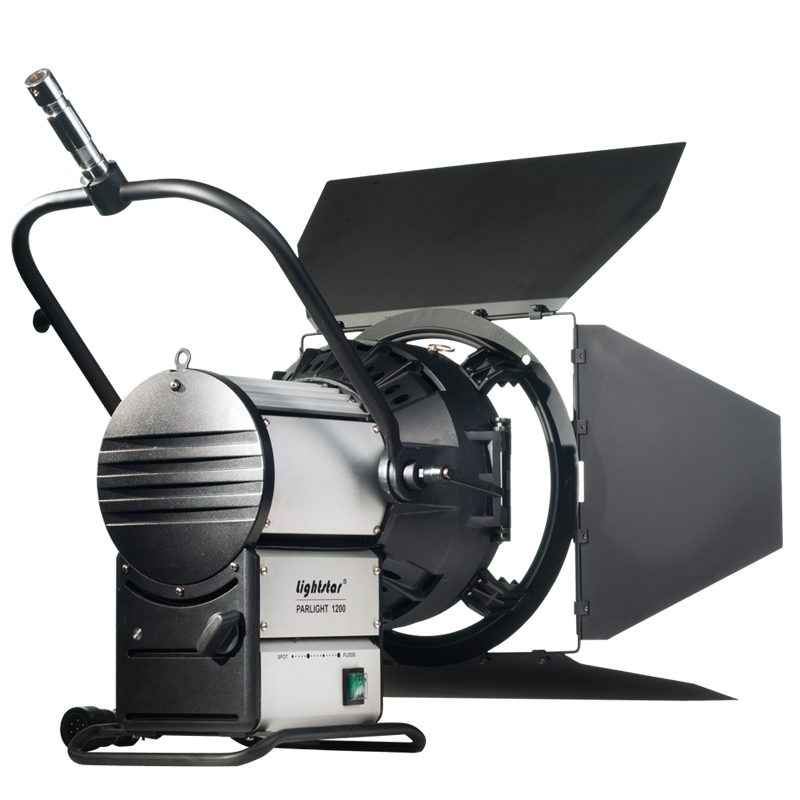 2500 watt hmi fresnel head lightstar includes barn doors ikan. Black Bedroom Furniture Sets. Home Design Ideas