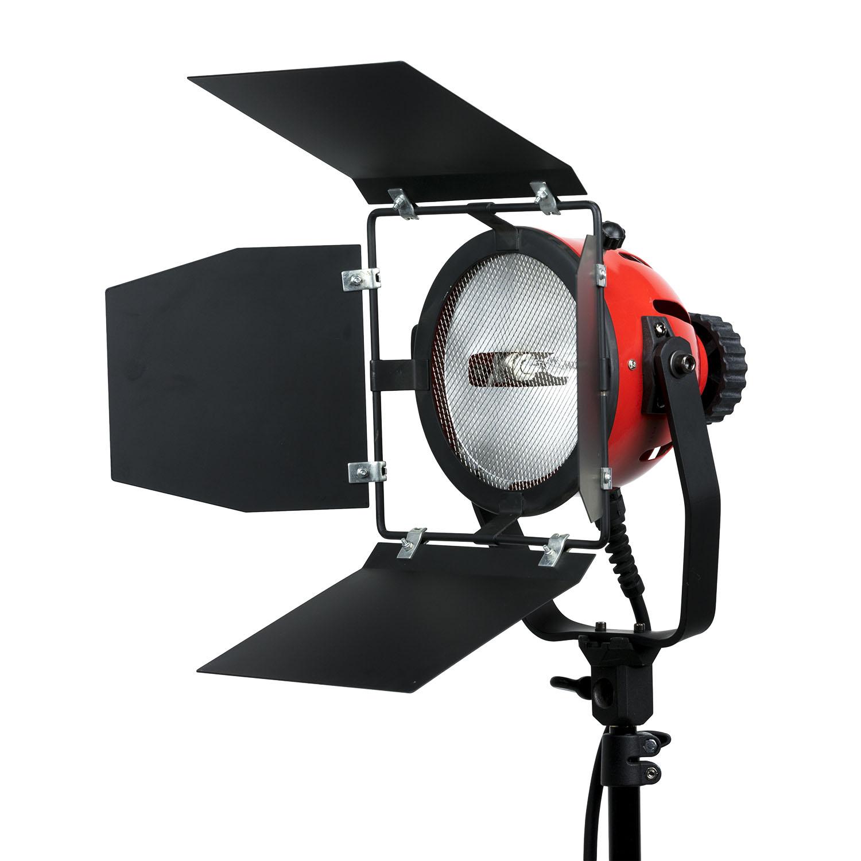 650 watt tungsten open face light w barndoors lightstar ikan