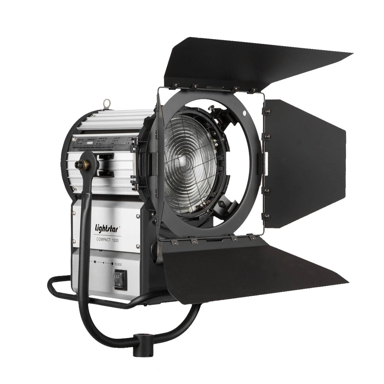 1200 watt hmi fresnel light w 1200 575 watt ballast includes 7 meter ballast to head cable. Black Bedroom Furniture Sets. Home Design Ideas