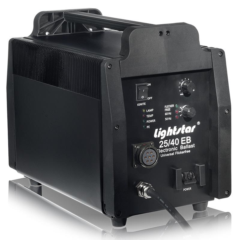 2500 watt hmi fresnel light kit with electronic ballast lightstar includes 7 meter head to. Black Bedroom Furniture Sets. Home Design Ideas
