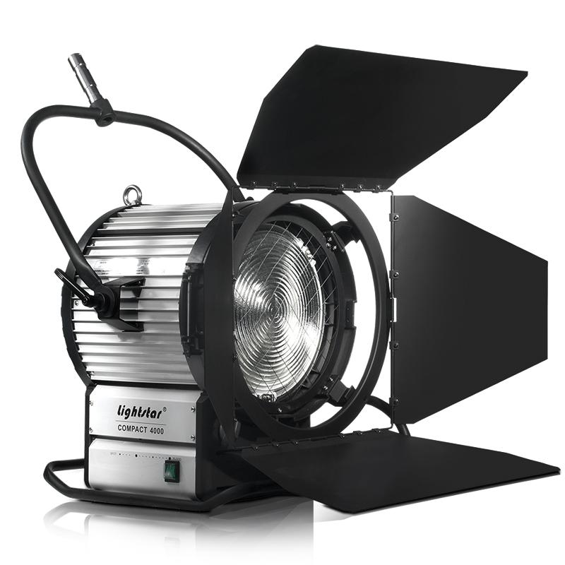 4000 Watt Hmi Fresnel Light Kit With