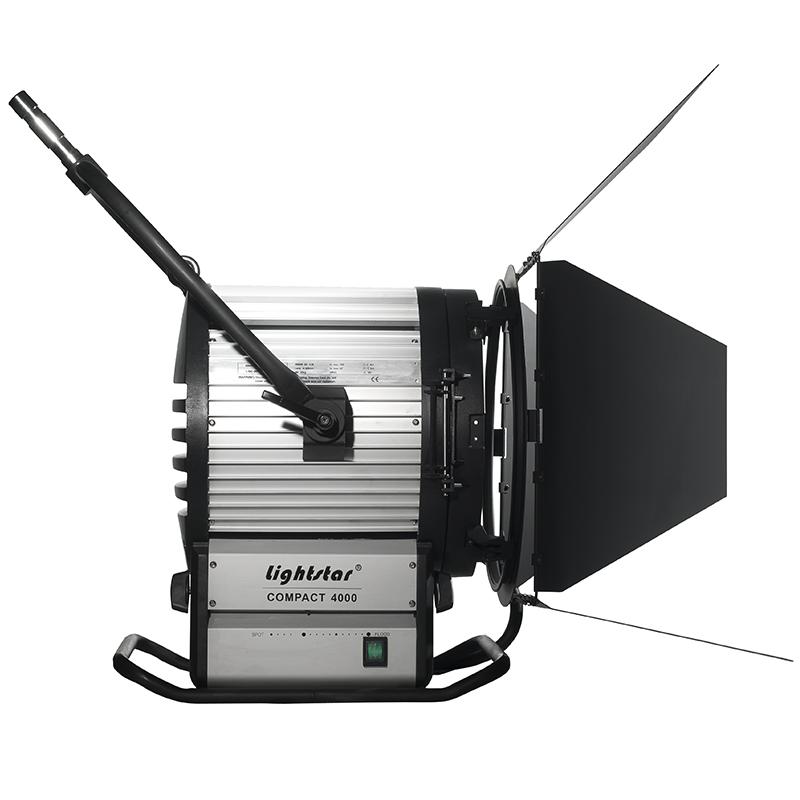 4000 watt hmi fresnel light kit with electronic ballast lightstar includes 7 meter head to. Black Bedroom Furniture Sets. Home Design Ideas