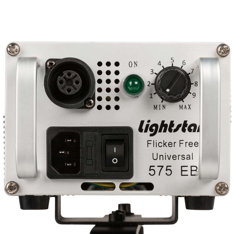 575 Watt Hmi Super Spot Par Light W Ballast Includes1 5 Meter To Head Cable 4 Insert Lens System Barndoors Lightstar