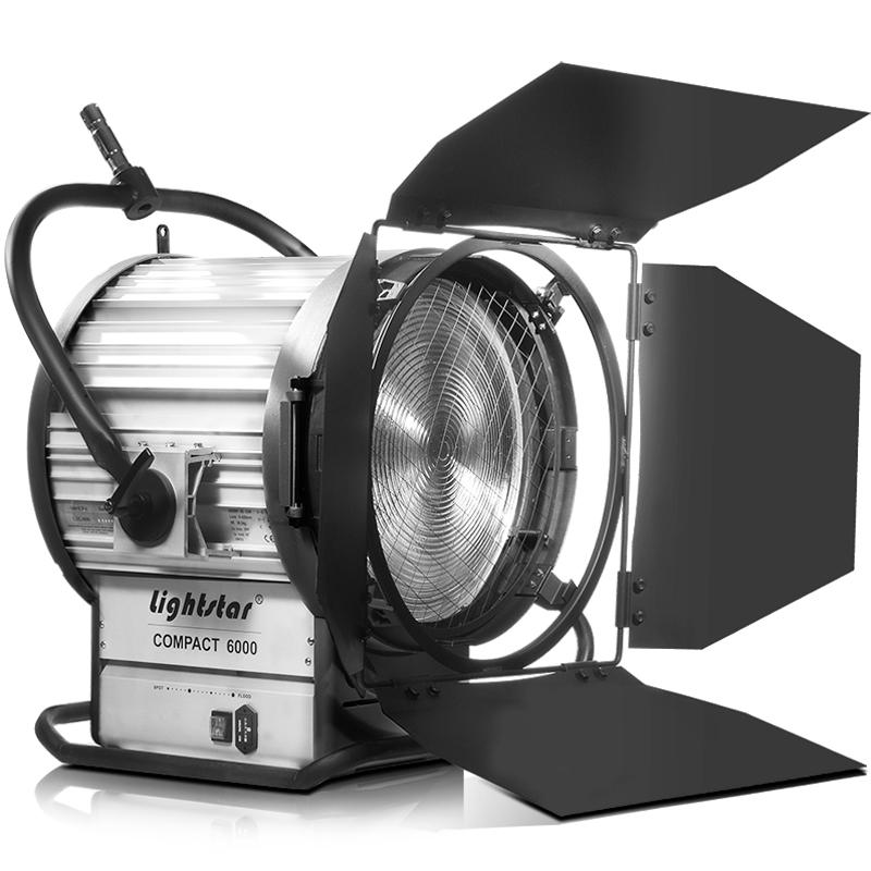 6000 watt hmi fresnel light kit with electronic ballast lightstar includes 7 meter head to. Black Bedroom Furniture Sets. Home Design Ideas