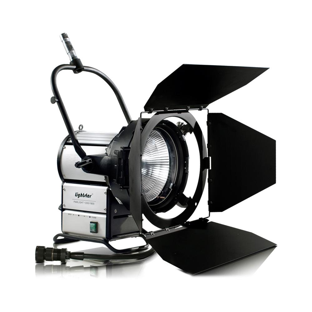 1200 1800 watt hmi par head lightstar includes barn doors ikan. Black Bedroom Furniture Sets. Home Design Ideas
