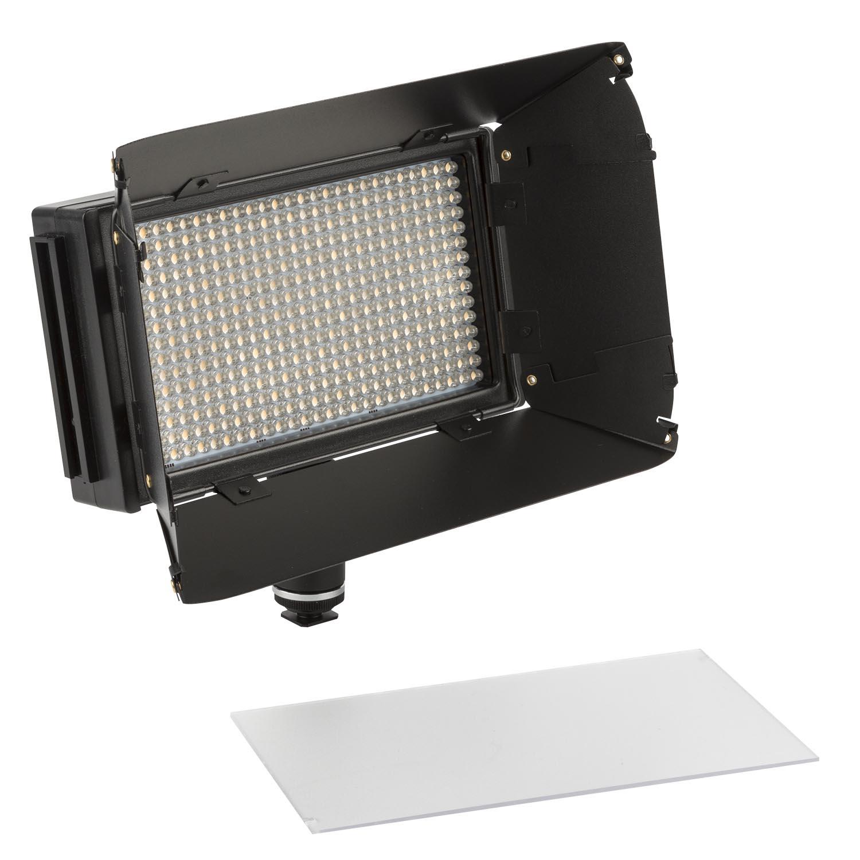 mylo mini bi color 3200k 5600k portable field led light travel kit w