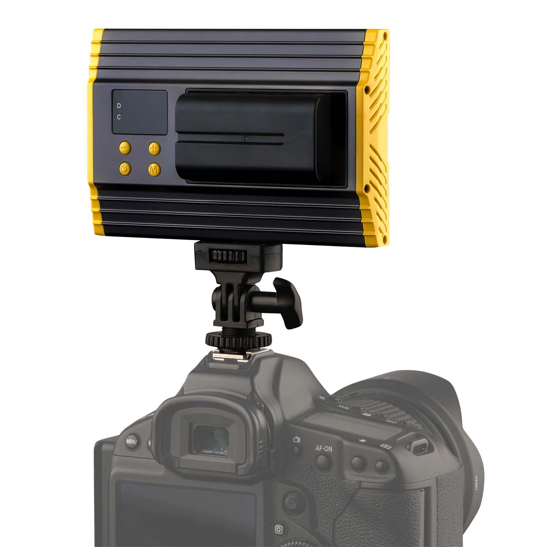 Onyx 15w Bi Color 3200k 5600k Aluminum On Camera Led Light