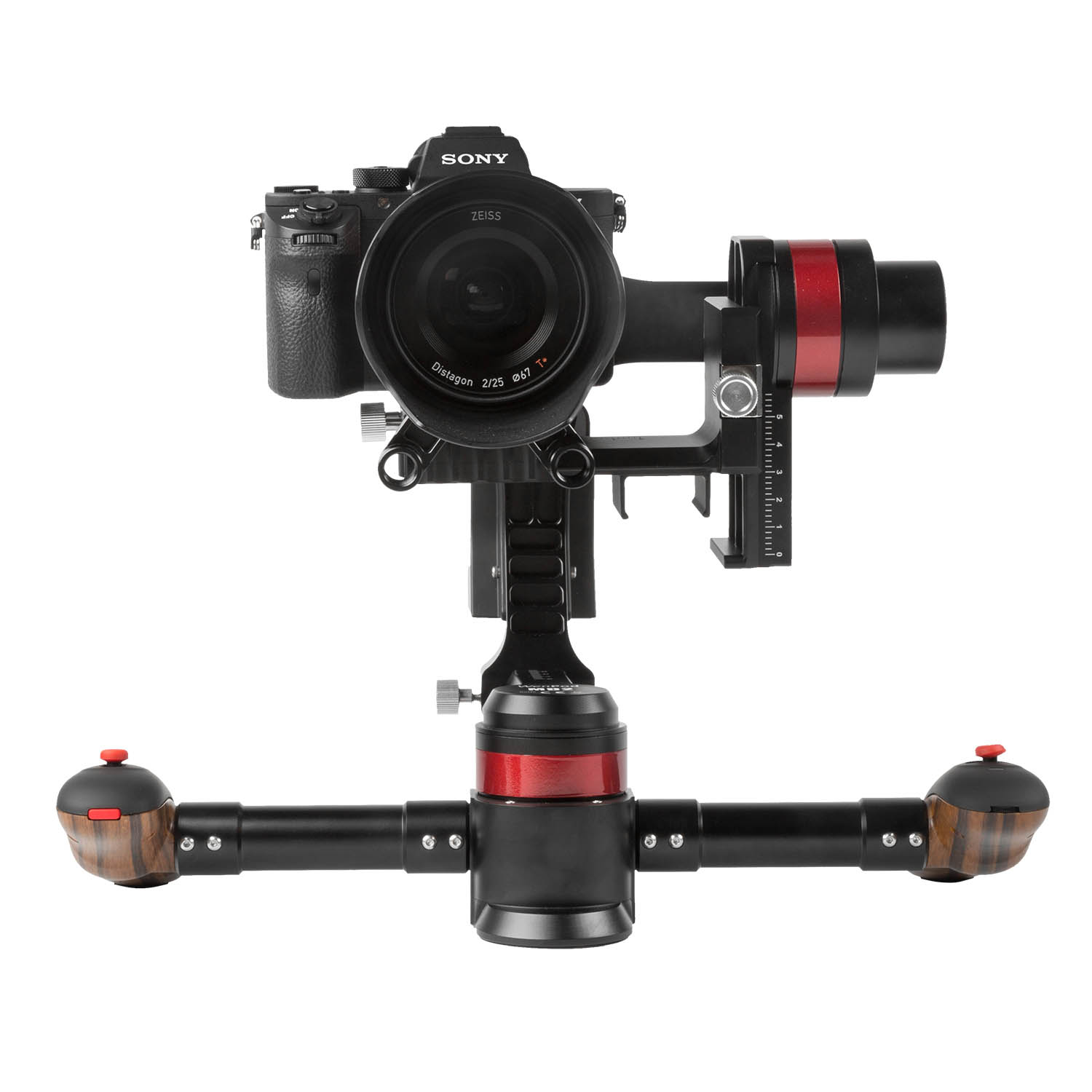 Light Stand Gimbal: MD2 3-Axis Handheld A.I. Gimbal Stabilizer (Wenpod)