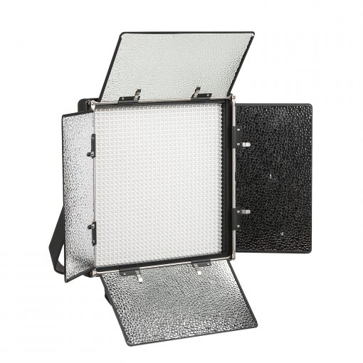 Rayden Bi-Color 5-Point LED Light Kit w/ 2x RB10 + 3x RB5 Includes Gold &  V-Mount Battery Plates, Stands, and Bags