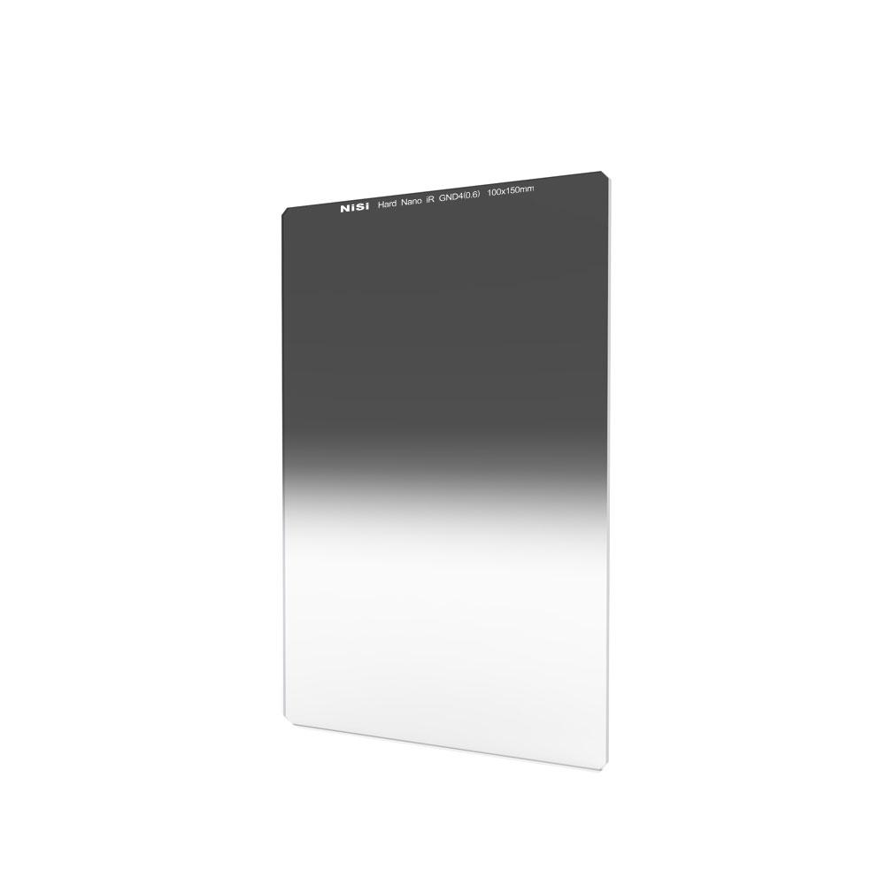 Hard Graduated Neutral Density Glass Filter 100x150mm