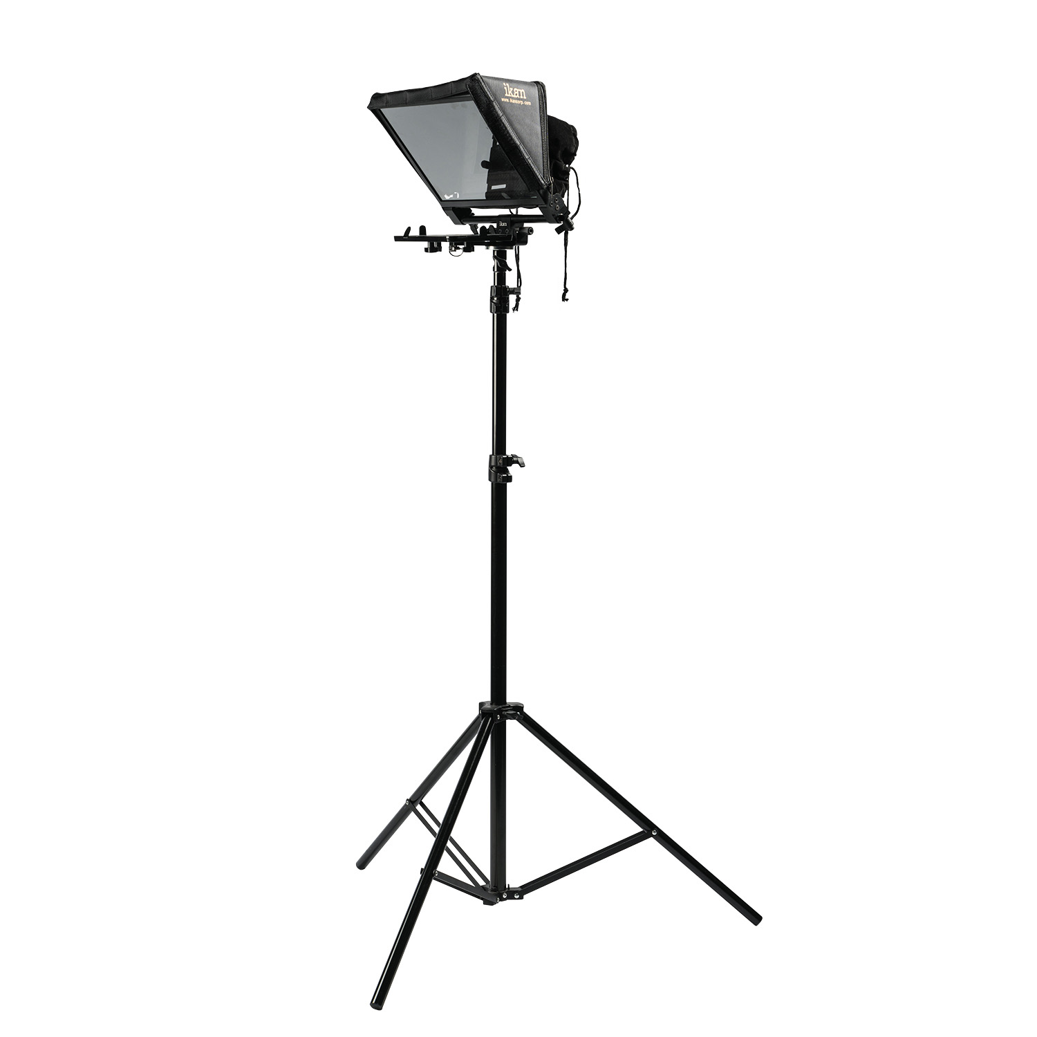 Light Stand Gimbal: Elite Universal Tablet & IPad Teleprompter For Light Stand