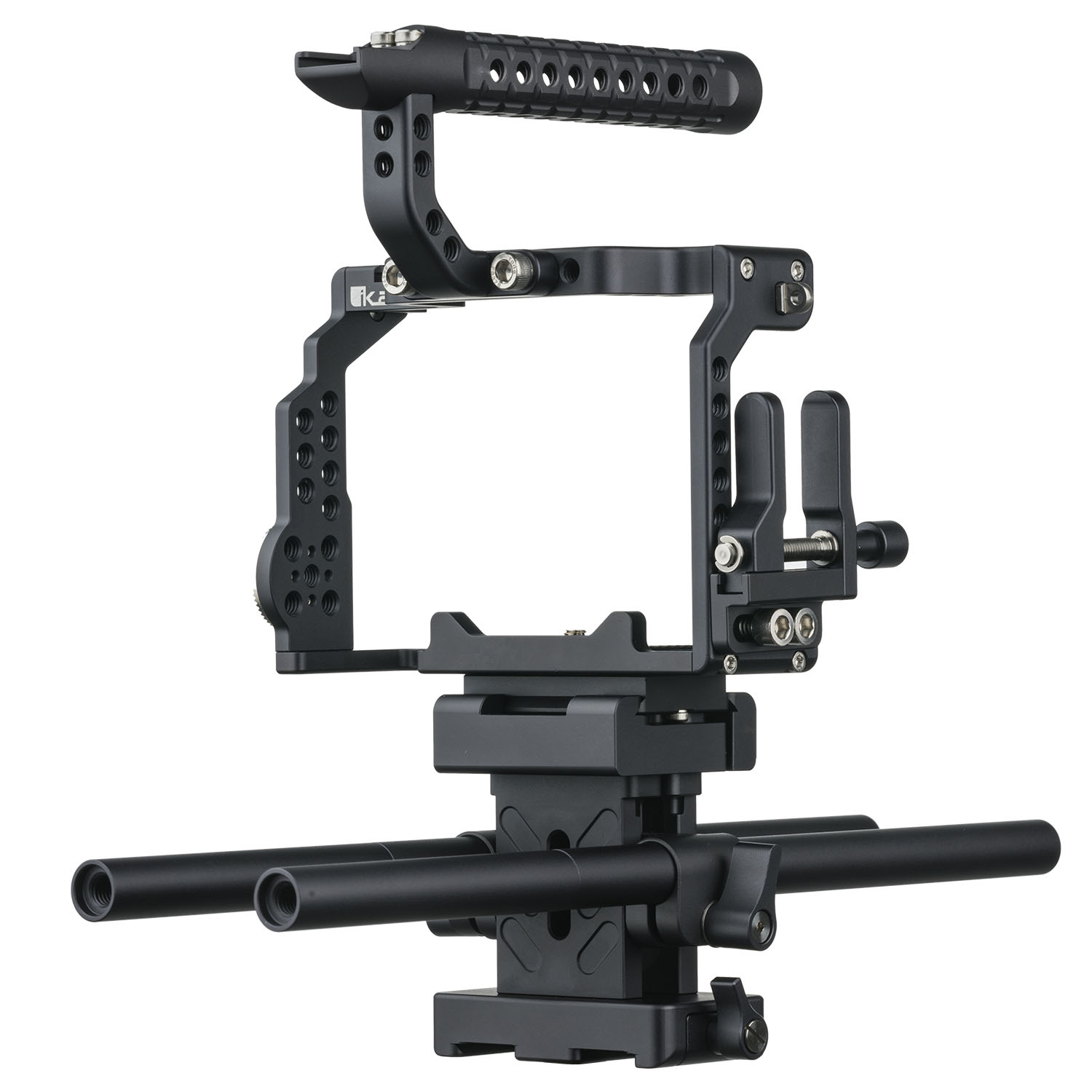 STRATUS Complete Cage for Sony a7 III Series Cameras Includes Top Handle,  Rods, Base, Frame, and Cable Clamp