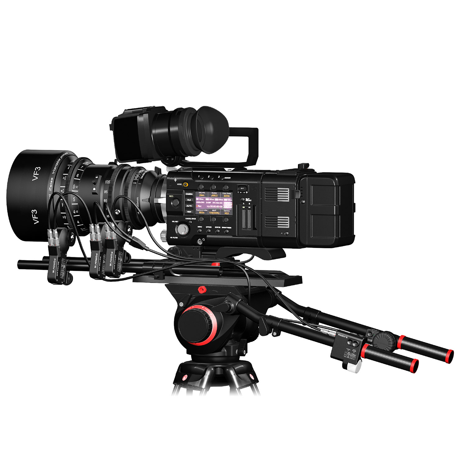 Remote Live 3 Single Channel Compact Focus Control Kit (PD Movie)