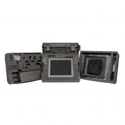 Ikan Professional 15 High Bright Beam Splitter 70//30 Glass Teleprompter Kit with 3G-SDI Travel Case PT4500-SDI-TK