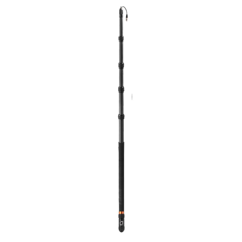 16 Carbon Fiber Telescoping Boom Pole w//Internal Cable and XLR Base E-Image